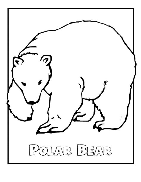 coloring pages endangered animals free printable polar coloring pages for