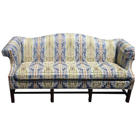 sofa chippendale ethan allen chippendale sofa chairish