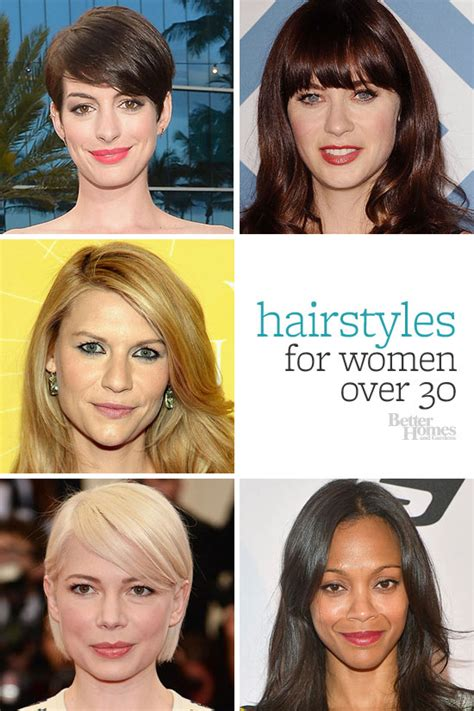 hair styles for in late 30 hairstyles for women over 30