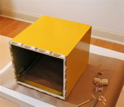 cabinet covers for rentals white and gold file box makeover