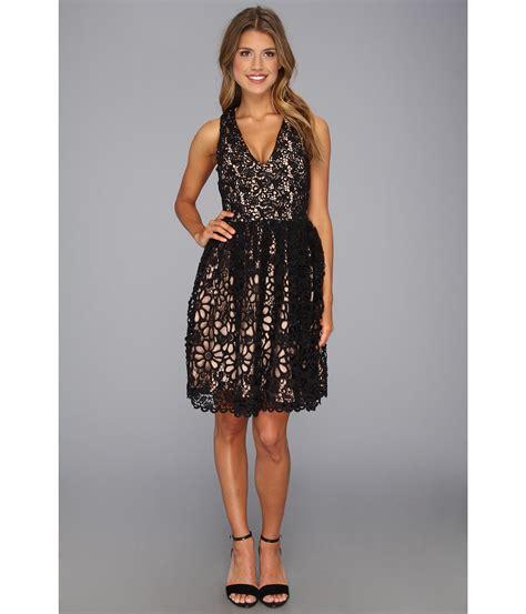 Black Lace Dress 17779 chain black lace dress dresscab