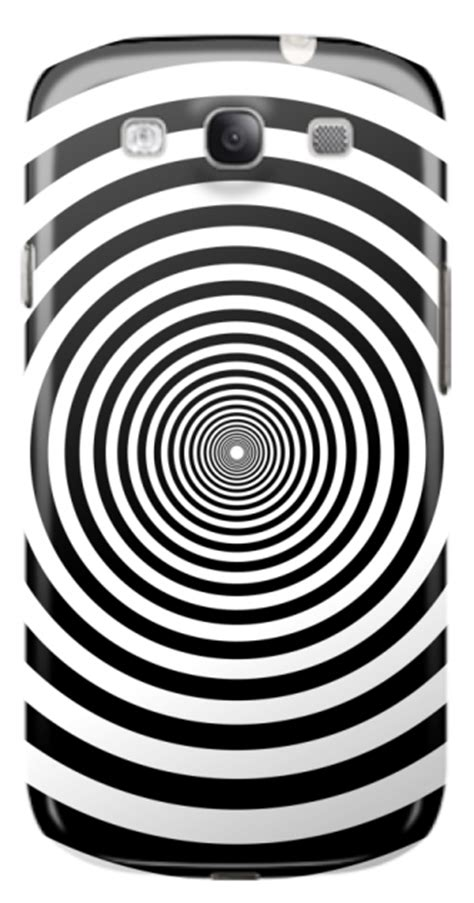 Justin Bieberhard Iphone Casesmua Hp black and white dizzy circles samsung galaxy s3