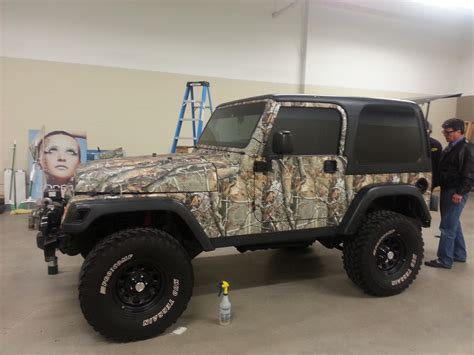 Camo Jeep Jeep Wrangler Camo Wrap Starocket Media