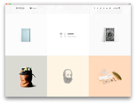 free tumblr themes artist portfolio 20 masonry grid style wordpress themes 2017 colorlib
