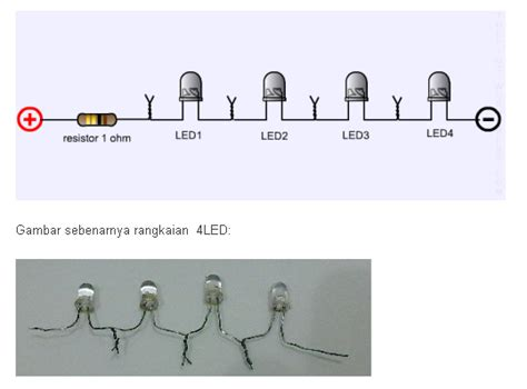 Lu Motor Led Ac Dc 3 Mata 30 Watt Putih resistor untuk led kecil 28 images rangkaian led tanpa