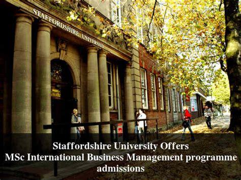 design management staffordshire university staffordshire university invites applications for msc