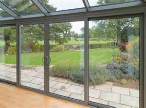Smart visoglide inline sliding patio door aluminium doors