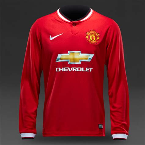 Jersey Manchester United Ls jersey manchester united home ls 2014 2015 big match