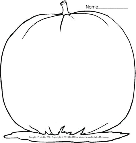 blank pumpkin coloring pages to print blank pumpkin template free coloring pages on art