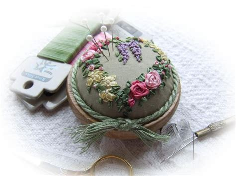 Handmade Pin Cushions - handmade pin cushion sew exquisite
