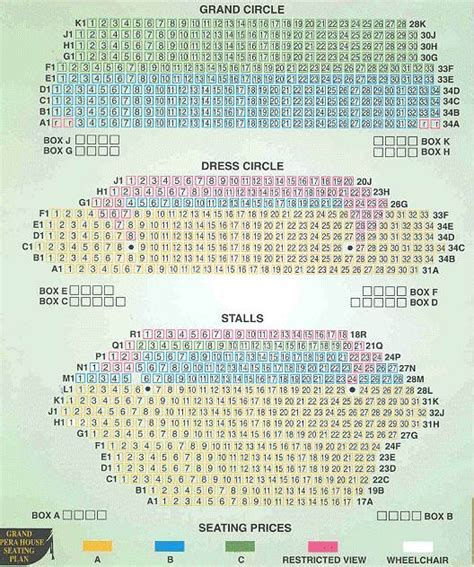 opera house layout manchester opera house manchester seating plan stalls escortsea