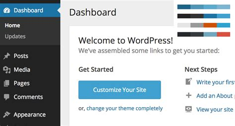 wordpress admin layout problem wordpress 3 8 new admin design wordpress ui in version 3 8