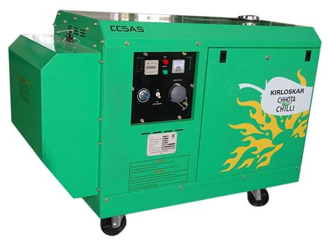 buy kirloskar chhota chilli portable diesel generator from