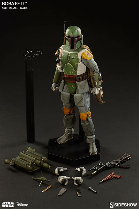 12 Inch Figure Collectibles boba fett sideshow wars collectible figure 1 6 scale series at cmdstore