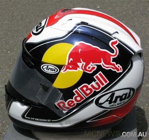 Helm Arai Pedrosa Redcasey Personal S Kyt Vr 1 Helm Quot Arai Look Quot