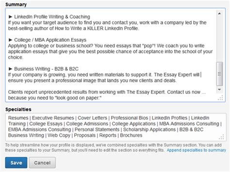 How To Improve Your Profile For Mba In India by How To Improve Your Linkedin Profile Social Media Examiner