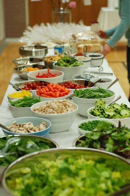 17 best ideas about salad bar on salad