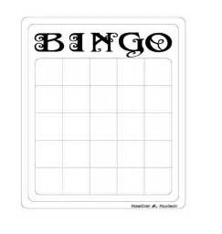 free bingo card templates 1000 images about education on bingo