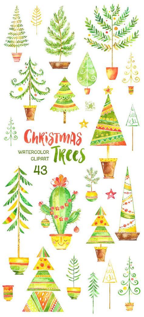 alberi clipart oltre 25 fantastiche idee su alberi ad acquerello su