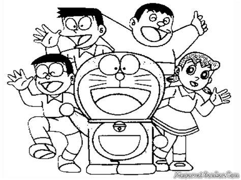 gambar tokoh kartun doraemon untuk diwarnai anak apps directories