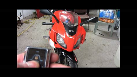 Motorrad Alarmanlage Test by Cyclone C11 Motorcycle Alarm Test