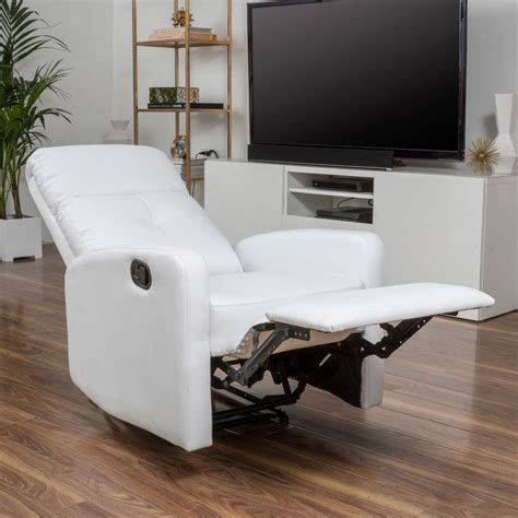 furniture lazy boy leather recliner and wall hugger
