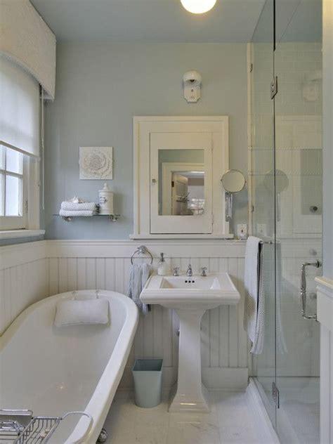 cottage bathrooms beadboard white beadboard bathroom