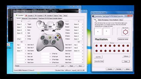 xbox controller emulator how to use your non xbox xbox 360 controller emulator presi 243 n en los gatillos
