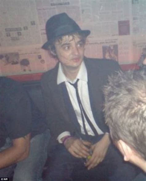 Pete Doherty Steals Cars Goes Free by Bleary Eyed Pete Doherty Celebrates Prison Release By