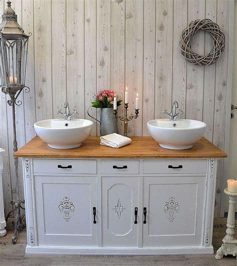 dekorieren badezimmerregale 16 besten waschtische landhausstil bilder auf