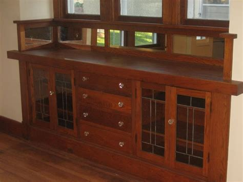craftsman style built in cabinets classic built in buffet my great grandma had one of these