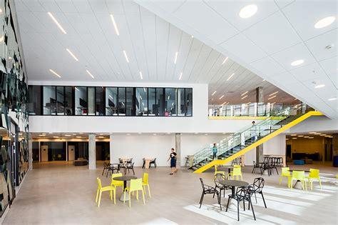 link arkitektur completes  norwegian school  economics