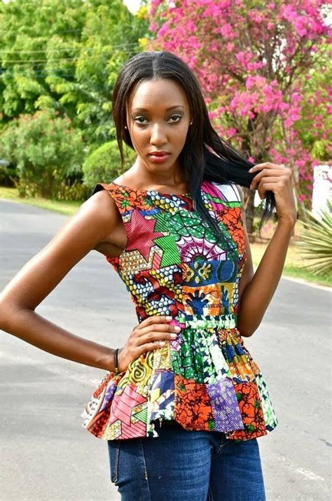 african tops styles select a fashion style the ankara peplum top styles a