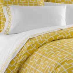 yellow duvet cover jonathan adler yellow nixon duvet cover in yellow nixon
