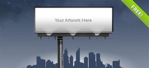 billboard template billboard template psd file free
