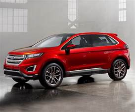 Ford Edge Cost 2017 Ford Edge Current Lightweight Crossover Carbuzz Info