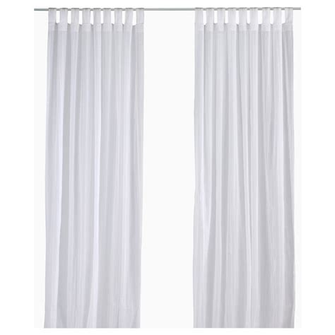 sheer curtains ikea matilda sheer curtains 1 pair white