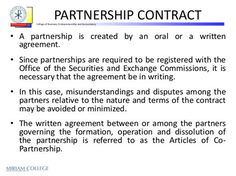 silent partner contract template silent partnership agreement template with sle