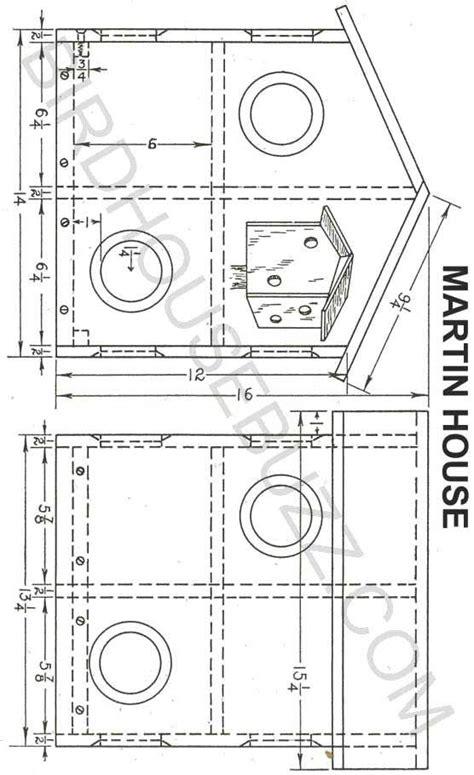 Purple Martin Houses Plans Purple Martin House Plans Wood Working