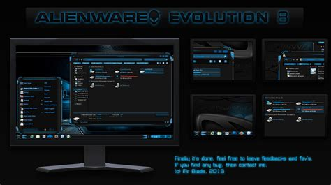 themes for windows 8 1 with sound alienware evolution theme f 252 r windows 8 deskmodder de