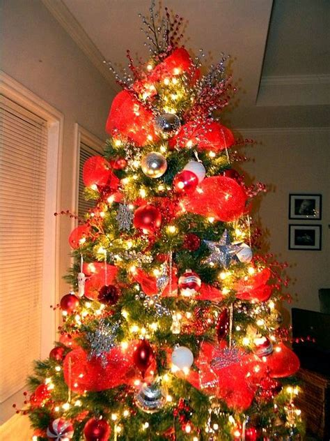 mesh mesh christmas tree and christmas trees on pinterest