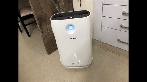 philips ac portable room air purifier features set  instructions unboxing youtube