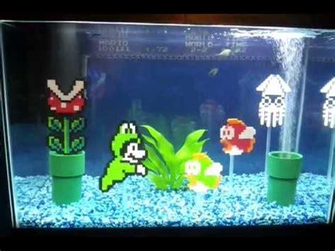 super mario aquarium super mario fishtank youtube