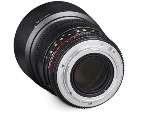 Samyang Lens 85mm T15 Vdslr Mk Ii For Sony Nex samyang 85mm t1 5 vdslr as if umc ii lens for canon
