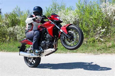 48 Ps Motorrad Geschwindigkeit by Honda Cb500f Testbericht