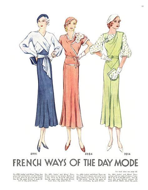 1930s swing fashion 1930s fashion plates swing fashionista