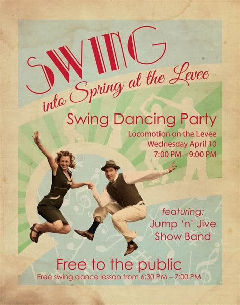 swing dance party pinterest