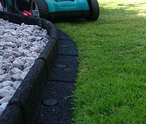Landscape Edging No Dig Rubber Lawn Edge Garden Border Grass Edging Fence No