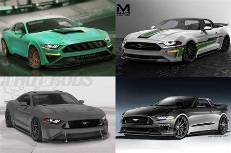 gt motor cars ford bringing seven 2018 mustang show cars to sema motor