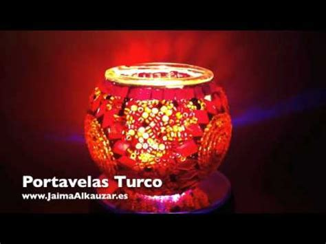 candelabros turcos portavelas turco artesanal estambul cristal murano